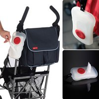 Wholesale New Design Baby Stroller Wipe Box Transparent Portable Carriage Wet Tissue Case Baby Pram Accessories Outdoor Use Clean Convenient Wipes Bag