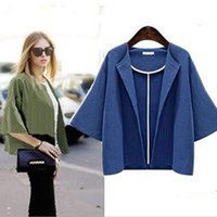 Wholesale Autumn wool Oversized sweater poncho winter cashmere plaid Knit cardigans women fashion cape cloak poncho Shawl