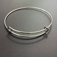 adult ani - Quality mm Adult Size Alex and Ani Style L Stainless Steel Adjustable Expandable Wire Bangles for Jewelry DIY