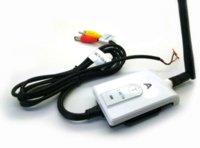 Vidéo gamme émetteur Prix-Transmetteur Câble AV sans fil 2,4 GHz et récepteur Pour Bus Car Moniteur vidéo Truck Renverser Vue arrière de sauvegarde Plage 200m de la caméra
