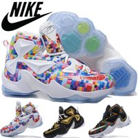 athletic shoes history - Men Trainers Athletic Shoes Nike Lebron xiii Gold History Mont Mens Basketball Shoes Cheap Lebrons James Sneakers LJ13 Retro Boys Sneaker