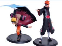 Wholesale Naruto Action Figures Doll toy Cartoon Decoration Model toys Naruto comic figure toys set Children best festival gifts