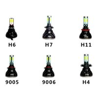 Wholesale DHL Fedex Pair G5 Models Car LED Headlights Surface Emitting LED Car Headlights H7 H11 Headlamp