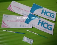 Wholesale Home Pregnancy Test Strip Home Ovulation Test Strip with CE and FDA Approved