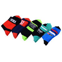 Wholesale 2016 tour de france Cycling Crew Socks bike socks solar protection bicycles foot warmer Cycling Socks With Coolmax Material