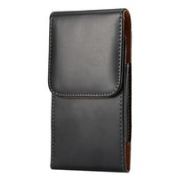 belt pouches - New black Smooth Wallet PU Leather Case Cover Pouch with belt clip for apple iphone samsung LG HTC