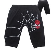 Wholesale you can choose size Spiderman cotton short pants knee length trousers for boys