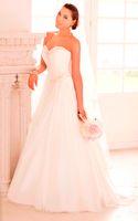 Wholesale Cheap White wedding dresses Sweetheart beaded branco marfim vestido de noiva praia barato tomara que caia bride