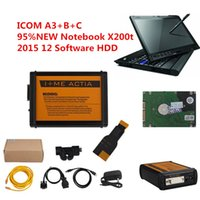 Wholesale 2016 high quality OBD2 diagnostic tools for BMW ICOM A3 B C and portable PC X200t with software HDD
