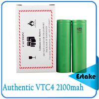 sony US18650VTC4 2100mAh US18650 VTC5 2600mAh VTC4 2100mAh 3.7V Li-ion battery clone for E cigarette Manhattan King Nemesis Stingray Mechanical mods 0204105