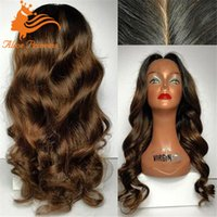 Wholesale Hot Sale A Grade Brazilian Hair Full Lace Wigs Loose Wave Full Lace Human Hair Wigs