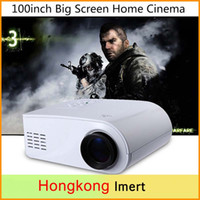 Wholesale New Plastic Full HD P Video Lumen Portable X6 Mini LED HDMI AV VGA SD USB Home Theater Beamer Multimedia Projector