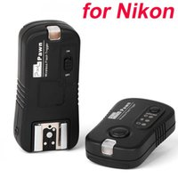 Wholesale Pixel Pawn TF Camrera Wireless Remote Flash Trigger Receiver for Nikon D7000 D5100 D5000