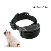 Wholesale ePacket Advanced Electronic Anti Bark Collar with Safe Training Sound Vibration and Levels Adjustable Sensitivity Control Button for Smal