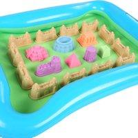 Wholesale New Inflatable Kids Outdoor Backyard Sandbox Activity Creative Play Sand Box