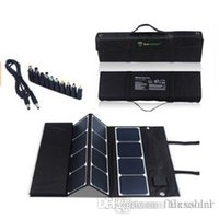 Wholesale 180W Folding solar panel charger pack made with high efficiency Monocrystalline flexible solar cell panel