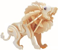 Wholesale Educational Toys Child Wooden D Puzzle Animal Model DIY P0640