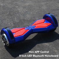 balance controls - Bluetooth hoverboard Self Balancing Scooter Inch Safe Certification Electric Scooter With APP Control LED Light Multicolor