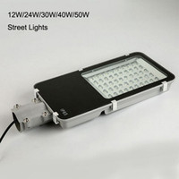Wholesale 4PCS W LED Streets Lights Road Lamp Waterproof IP65 Industrial Outdoor Lighting Lamps