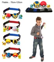 action figures games - Poke game go action figure Clip N Carry Poké Ball Belt Poke Ball Belt poke ball action figure doll Pikachu Style