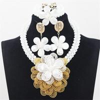 al por mayor las joyas a juego-Moda africana Collares Collar Joyas Cinta Collar turco Joyería con anillo y pulsera Conjuntos Matching Party Dress