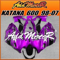 Wholesale High Quality Fairings Addmotor New Design Compression Mold ABS For Suzuki Katana Purple SK722 Free Gifts Best Chioce