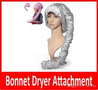 Wholesale New Portable Hair Dryer Soft Hood Bonnet Attachment Haircare Salon Hairdress hair care cap Treatment Cap