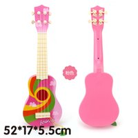 baby guitar toy - Children guitar string simulation toys baby early education practice Musical Instruments guitar not wooden toy can play
