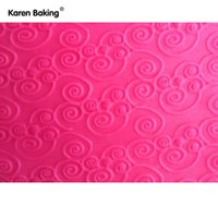 cake boards - Bakeware Rolling Pins Pastry Boards Beautiful Design Embossing Rolling Pins Sugar Craft Tools Fondant Cake Decoration A161