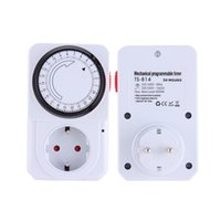 Wholesale 24 Hour Mechanical Electrical Plug Program Timer Power Switch Energy Saver