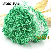 craft supplies - estive Party Supplies Decorative Flowers Wreaths New Sweet Green Color Size mm Flower Stamen Pistil Cake Decoration Craft