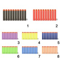 Wholesale 100pcs cm Refill Bullet Darts for Nerf N strike Elite Series Blasters Kid Toy Gun Accessory