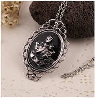 bella pendant - Bella Moonstone Necklace woman fashion Necklace parrot Pendant new European and American popular jewelry