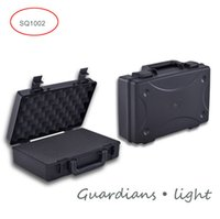 Wholesale SQ1002 internal mm Plastic sealed waterproof safety equipment case with foam