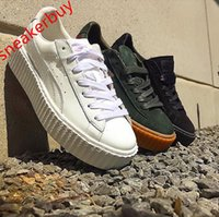 ladies shoes size - Rihanna x Suede Creeper Creepers by Rihanna fenty shoes Fashion Ladies Rihanna sport shoes sneakers with origrinal boxes size US6 US10