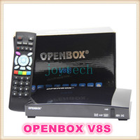 Wholesale openbox v8s HD digital satellite receive dual core cpu MHZ MIPS processor openbox v8 receive support x USB with G model