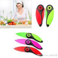 Wholesale Creation Mini Bird Ceramic Knife Gifts Portable Fold Fruit paring SKin peeler Knife Pocket Folding Knives GD K02