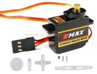 Cheap RC Servo EMAX 08MA Torque 2kg 12g Mini Metal Gear High Speed Servo 4.8V-6V ES08MAII Parts & Accessories