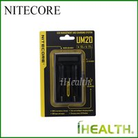 battery charger definition - Authentic NITECORE UM20 UM10 USB Integrated Li ion Battery Charger with High Definition LDC display intelligent automation charger