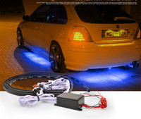 automobile chassis - Colorful Car LED Lamp Strips Car Chassis Lights Automobile Chassis Lights Voice activated LED Decorative Lights cm