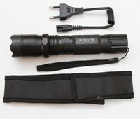 Wholesale Outdoor Hiking Self Defense LED Flashlight Torch