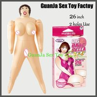 Cheap 2 Hot Love Holes Vagina Anus Mini Sex Doll for Man Male Masturbator Inflatable Sex dolls Adult Game Party Necessity Toys