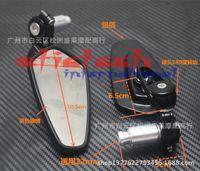 bar motos - by dhl or ems50pair mm Motorcycle CNC Aluminum Handle Bar End Rearview Side Mirror For Honda Yamaha Kawasaki Motos