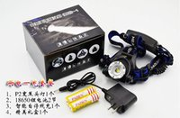 Wholesale LED Zoomable Headlight Modes Bike Bicycle Flashlight Head Light Outdoor Camping with charger