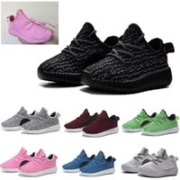 baby running shoes - 2016 Baby Shoes Running Sports Shoes Kids West Boost Sneakers Booties Toddlers Shoes Brand Cheap Boys Girls Training Shoes Branded