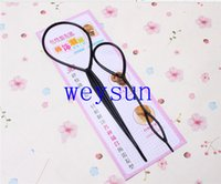 Wholesale Ponytail Creator Plastic Loop Styling Tools Black Topsy Pony topsy Tail Clip Hair Braid Maker Styling Tool Fashion Salon
