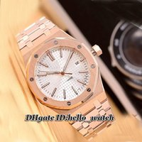 asian dating - Cheap Brand Luxury New SR SR Asian Automatic Silver Dial Rose Gold Mens Watch Gents Stainless Steel Strap Watches