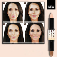 base brand - Double ended Contour NYX Wonder Stick Foundation Hide Blemish Dark Circle Cream Concealer Base Liquid Contouring Camouflage Cosmetics Brand