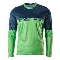 Wholesale YETI Downhill Cycling Jerseys Custom Cycling DH Downhill MTB BMX Jerseys new color Motorcycle Motocross Clothing