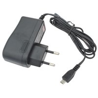 Wholesale Universal DC V A Micro USB Cable EU Standard Charger Power Adapter For Tablet PC
